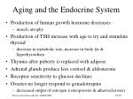 aging and the endocrine system