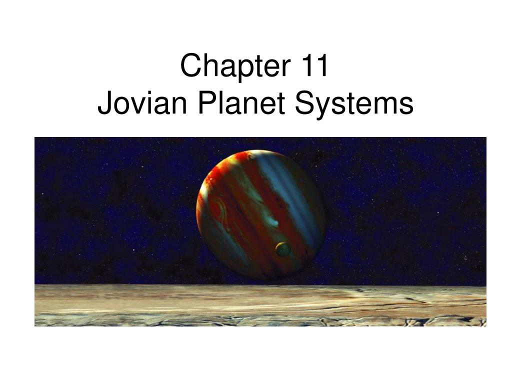chapter 11 jovian planet systems l.