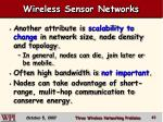 wireless sensor networks45
