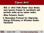 zigbee mac