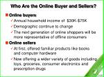 who are the online buyer and sellers