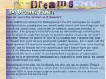 do dreams exist1