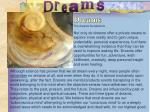dreams the dreams foundations