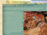 personality theory dr c george boeree