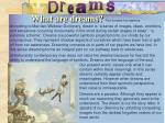 what are dreams the dreams foundations