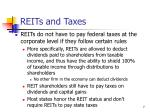 reits and taxes