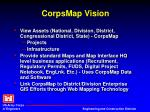 corpsmap vision