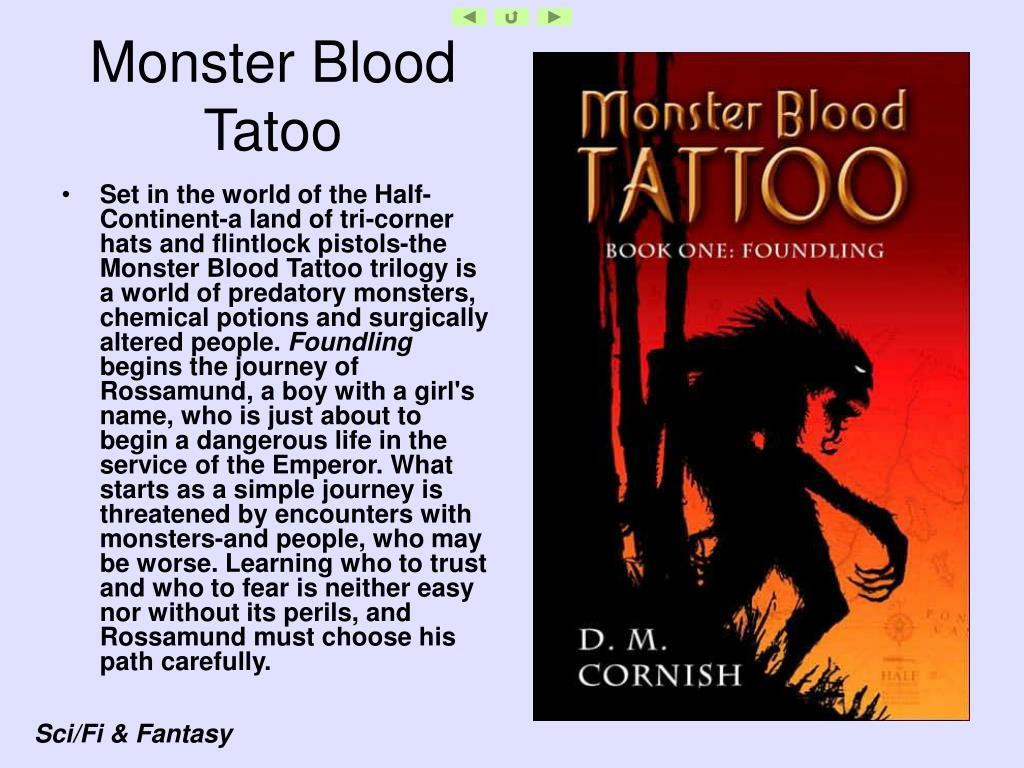 Monster Blood Tatoo