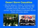 desert storm casualties