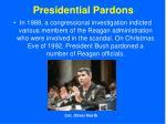 presidential pardons