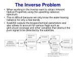 the inverse problem