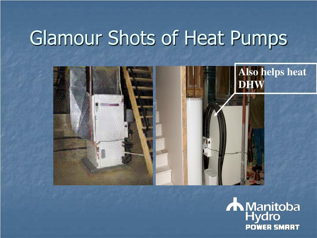 Glamour Shots of Heat Pumps