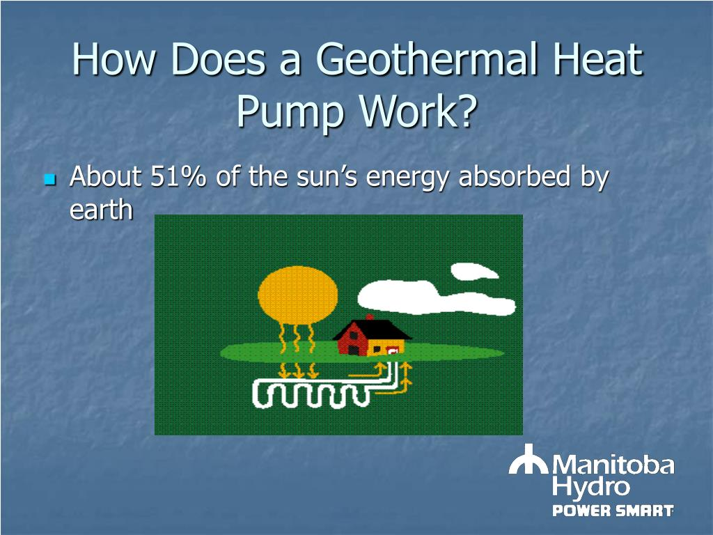 How Does a Geothermal Heat Pump Work?