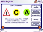haccp system
