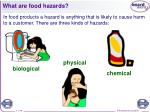 what are food hazards