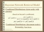 bayesian network retrieval model25