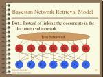 bayesian network retrieval model29