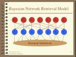 bayesian network retrieval model41