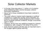 solar collector markets29