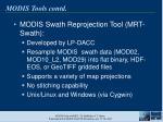 modis tools contd19