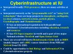 cyberinfrastructure at iu