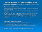 solar homes communities plan government rebates dept of environment water heritage the arts