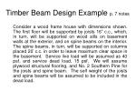 timber beam design example p 7 notes