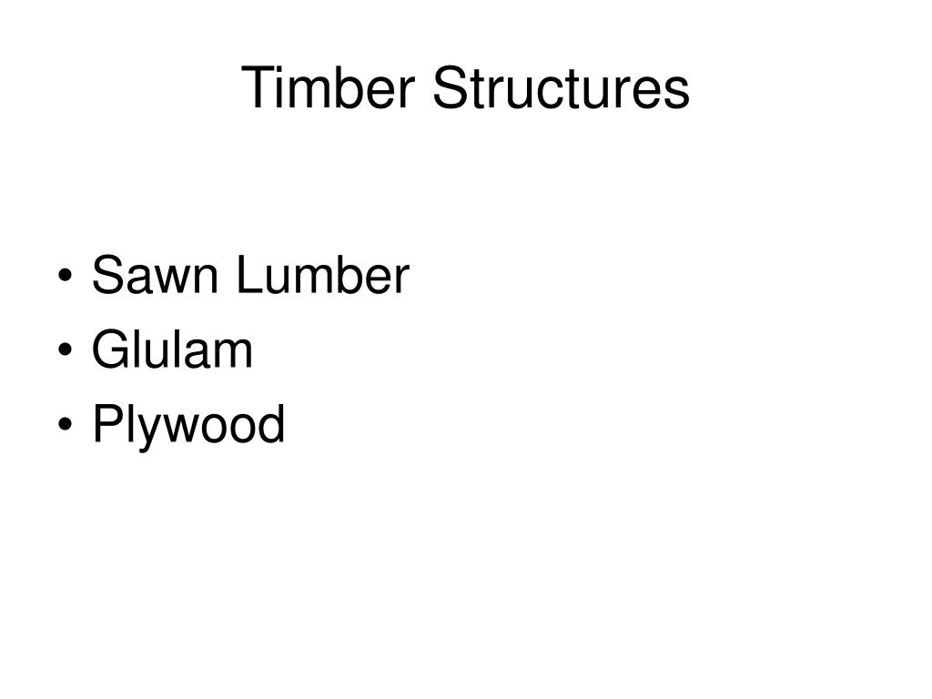 timber structures l.