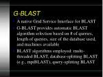 g blast