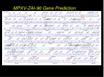 mpxv zai 96 gene prediction
