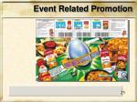 event related promotion