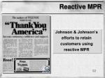 reactive mpr12