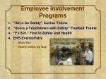 employee involvement programs