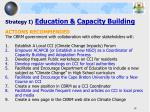 strategy i education capacity building