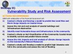strategy ii vulnerability study and risk assessment