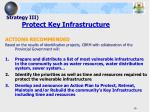 strategy iii protect key infrastructure