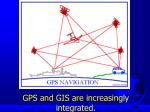 gps and gis are increasingly integrated