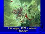 las vegas 1972 infrared landsat