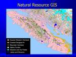 natural resource gis