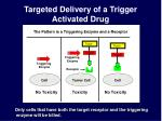 targeted delivery of a trigger activated drug1
