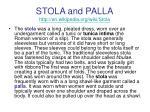 stola and palla http en wikipedia org wiki stola