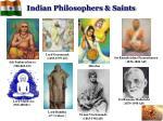 indian philosophers saints