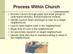 process within church