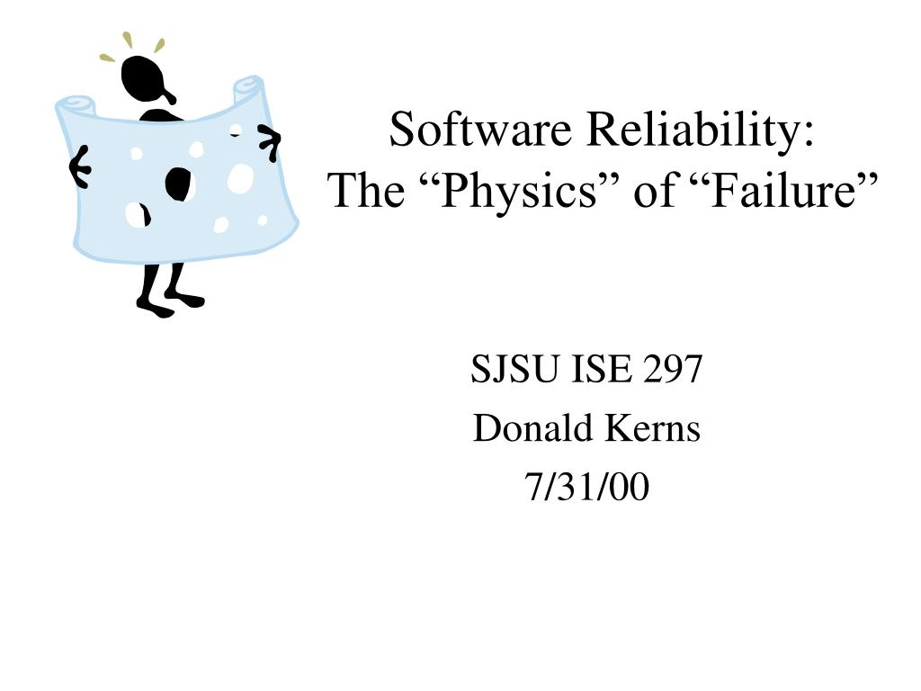 software reliability the physics of failure l.