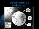 globalisation 3 0 individuals