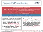 years after frcp amendments