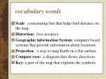 vocabulary words3