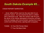 south dakota example 5