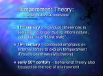 temperament theory a brief historical overview1
