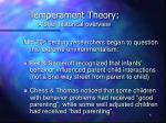 temperament theory a brief historical overview2
